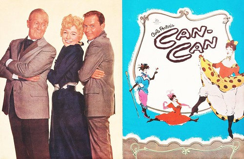 Can-Can (1960 / 20th Century-Fox) front & back covers