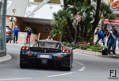 Ferrari Enzo (Frank L. Photography) Tags: black cars car photographers ferrari montecarlo monaco enzo d3200