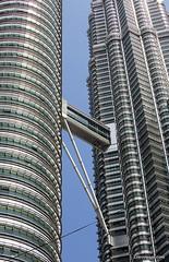 Petronas Towers at Kuala Lumpur (forum.linvoyage.com) Tags: sky building tower skyscraper high outdoor petronas towers most kuala lumpur scraper highest               phuketian forumlinvoyagecom httpforumlinvoyagecom phuketphotographernet