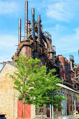 Quieted (k.lori1) Tags: steel bethlehem blast furnaces