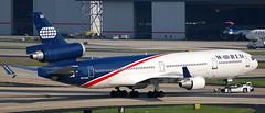 MD-11 N272WA (707-348C) Tags: atlanta jetliner 230409 usa mcdonnelldouglas n272wa md11 worldairlines airliner freighter georgia exaerlingus world worldairways