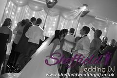 Andrew & Lauren McCambridge - Hellaby Hall - Black & White  Wedding Photos by Sheffield Wedding DJ 0006