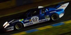 Ligier JS2, Le Mans Classic 2014 (Thibault Gaulain) Tags: france classic rain night nikon pluie racing mans le nuit lemans v8 v10 v6 v12 js2 2014 ligier nikond3200 d3200 lemansclassic2014