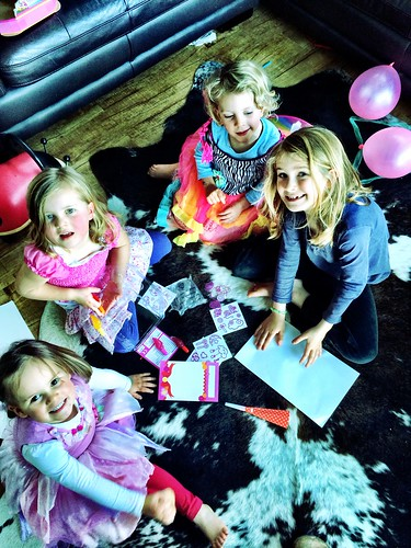 Four Girls :: Polly's Sixth Birthday