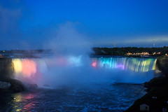 Niagara Falls - 188 (www.bazpics.com) Tags: bridge light usa newyork ontario canada color colour fall nature water night river landscape flow niagarafalls boat waterfall rainbow scenery ship natural drop tourists niagara falls american barryoneilphotography