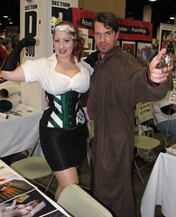 BelleChere and Detty Cosplay at Boston Comic Con 2014 (FranMoff) Tags: boston costume cosplay rogue bellechere 2014 costumer malcolmreynolds bostoncomiccon bostoncomiccon2014
