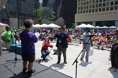(KevinIrvineChi) Tags: disability disabilities disabilityprideparade disabilitypride disabledandproud pride parade chicago chicagoist daleyplaza sun sunny stage annual grandmarshal speech audience crowd sony dscrx100 garyarnold gary arnold illinois