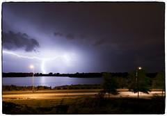 Onweer... (a.stokman) Tags: thunderstorm lightning groningen thunder weer onweer piccardthof bliksem piccardthofplas arjostokman