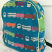 train backpack front
