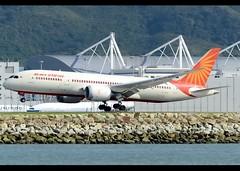 Boeing | 787-8 | Dreamliner | Air India | VT-ANA | Hong Kong | HKG | VHHH