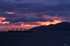1179_vancouver_2014_04_18 (P Capture) Tags: sunset sea vancouver britishcolumbia stanleypark select cargoship