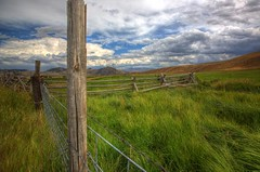 Fences and pastures (Mysophie08) Tags: rural fence montana bigmomma gamewinner cy2 thechallengefactory fotocompetitionbronze pregamewinner