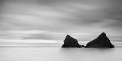 Stradbally (annemcgr) Tags: longexposure ireland sea beach water monochrome clouds blackwhite rocks waterford fineartphotography stradbally annemcgrath