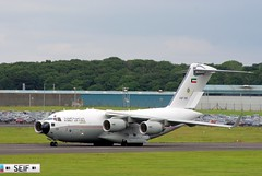 Boeing C17 Globemaster lll KAF342 Prestwick airport Glasgow 2014 (seifracing) Tags: rescue plane army scotland force glasgow air scottish kuwait spotting services recovery forces armed arabs ecosse 2014 seifracing