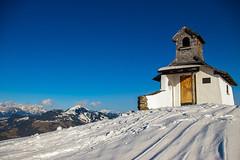 Church with a view (Andrew Kernan) Tags: mountain church austria skiresort niederau churchwithaview