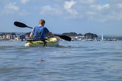MAK28 (Antony Ward UK) Tags: ocean sea beach water kayak dorset bournemouth sandbanks poole siton kaafu fatyak