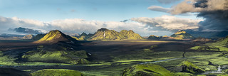Iceland: Storkonufell Desert Panorama