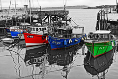 Cobh HDR (Renzo Ferrante) Tags: ireland sea colour boat nikon mare harbour barche porto cobh hdr irlanda 2014 d60 ruby3 renzoferrante