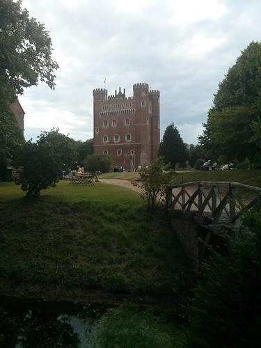Tattershall Castle - Photograph of Tattershall Castle grounds.
