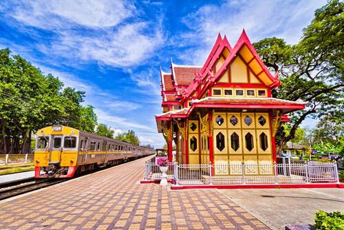 Công trình nhà ga Hua Hin.