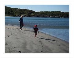 On the beach (Christa (ch-cnb)) Tags: sea beach water norway norge sand north sharon olympus norwegian pro srtrndelag zuiko stefano trndelag hosen stokkya revsnes stokksund stoksund hosnasand sjsenter mzd1240mm