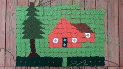 My 2014 North Carolina State Fair project as of August 17, 2014 (crochetbug13) Tags: summer house square squares statefair crochet northcarolina fresno blanket afghan northcarolinastatefair grannysquare grannysquares 2014northcarolina pictureghan
