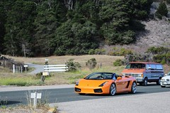 Beautiful scenery (Chase Thesing) Tags: orange car canon eos rebel fast spyder exotic valley carmel week polarizer lamborghini rare sl1 gallardo hoya 2014