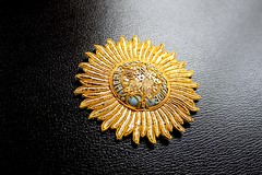 Order of the Star of India (Ordensmanufaktur.de) Tags: greatbritain star order embroidery empire knight british stern indien orden britishraj grandcross grosbritannien breaststar groskreuz bruststern