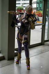 Sakura 07-1680 (Photography by J Krolak) Tags: costume cosplay masquerade soulcalibur kingoffighters sakuracon sakuracon2007 ivyvalentine