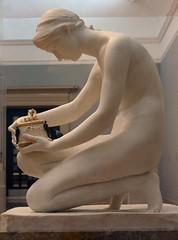 Harry Bates (1850-1899) - Pandora (1891) - Tate Britain Sep 2010 left (ketrin1407) Tags: sculpture statue female naked nude erotic tate victorian ivory marble greekmythology tatebritain sensuous newsculpture harrybates