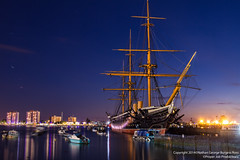 HMS Warrior (Proper Job Productions) Tags: longexposure iron navy victorian nighttime portsmouth warrior battleship warship hms royalnavy hmswarrior ironclad navalbase