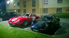 Dino (Matty Ring) Tags: park blue red car brewers dino ferrari gto fayre