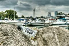 Habits (Malena ) Tags: lighthouse drunk lyrics michigan detroit booze emotions jackdaniels millikenstatepark tovelo