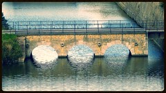 Bridge and reflection (hobbyphoto18) Tags: bridge france reflection brick water eau reflet brique pont nordpasdecalais nord gravelines