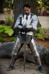 Don Vincenzo di Sicilia (Pahz) Tags: photography armor sword knight joust bristolrenaissancefaire jouster vincentanthonytodd pattysmithbrf donvincenzodisicilia