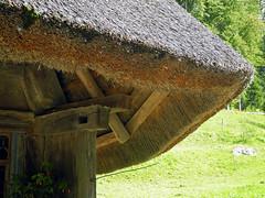 7575   Bauernhaus von Leutwil AG (1803) Schweiz.  Farmhouse Leutwil AG (1803) Switzerland. (Fotomouse) Tags: flickr alt architektur thatchedroof ballenberg strohdach strohhaus fotomouse
