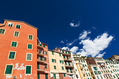 Camogli Italy (TobiT.) Tags: italien blue sky italy house clouds himmel wolken haus blau camogli