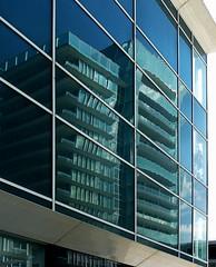 Deformato  meglio :) (fotomie2009) Tags: italy reflection skyscraper italia torre liguria grattacielo riflesso bofill savona