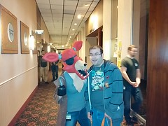 Me and Foxy (theycallmebrant) Tags: furry five minneapolis pirate fox convention nights migration freddys fursuit fnaf fm2014