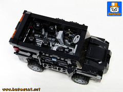 SWAT VEHICLE 03 (baronsat) Tags: lego swat vehicles truck van armed tactics heavy weapon special team police armored moc custom model instructions