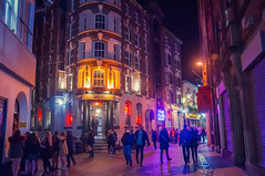 Matthew Street at night (Tony Shertila) Tags: 20170128221728 centralward england gbr liverpool unitedkingdom geo:lat=5340636443 geo:lon=298636079 geotagged europe britain merseyside matthewstreet night outdoor tourist