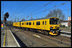No 950001 15th March 2017 Ipswich (Ian Sharman 1963) Tags: no 950001 15th march 2017 ipswich station engine railway rail railways train trains loco locomotive network test derby colchester geml great eastern mainline dmu diesel multiple unit class 150