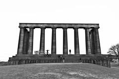 Upon the Hill (Edward.Turner) Tags: edinburgh scotland city citybreak canon 50d sigma 1020 bw blackandwhite texture
