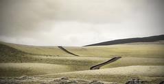 Lakagigar. Iceland (ibethmuttis) Tags: landscape inland iceland lakagigar pathways sky clouds minimalism