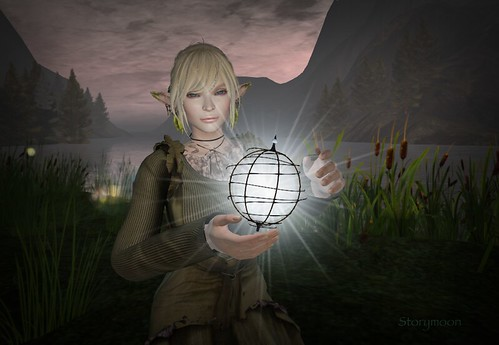 secondlife avatar lelutka go monso mandala maitreya glamaffair virtual poetry hobbitonsim fae elven elf magic light