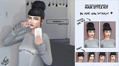 Out now! Mondaze @ Versus (liza.broono) Tags: sl second life mesh hair fashion event mondaze catwa style kit ovh bun