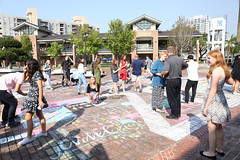 2017 Senior Chalk Day