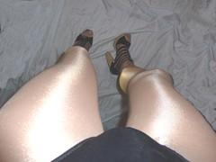 00065 (bib birdy) Tags: high heel boots tall crossdresser leotard pantyhose cd tv transvestite tranny tgirl swimsuit nylon transdgender cfm sandals skirt xdresser trans transgender tg black overknee crotch leather wetlook dress skintight skinny tight lycra spandex heels granny shoes shiny milf gladiator pvc