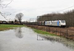 BLX 186 254-9 & 186 252-3 met de kolentrein Zandvliet naar Dillingen
