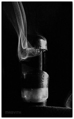 Valve Smoke (Mabvith) Tags: film ilford fp4 mono blackandwhite bw valve smoke broken glass